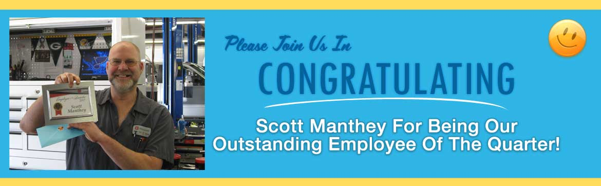 scott employee of the quarter