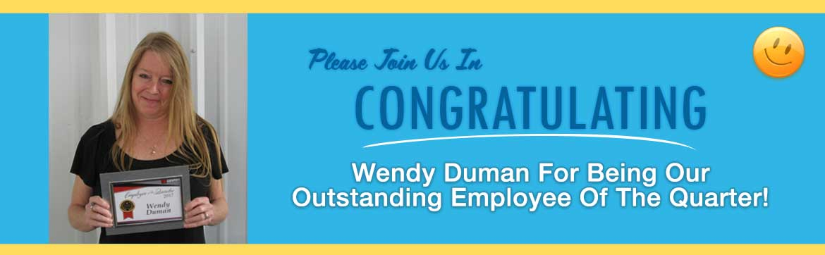 wendy employee of the quarter